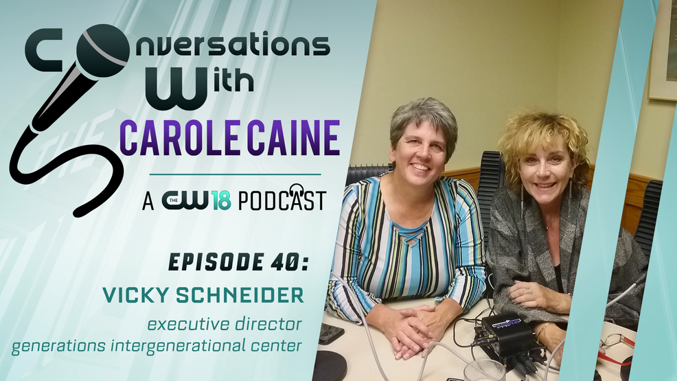 Conversations with Carole Caine| Episode 40: Generations-Intergenerational Center Plymouth