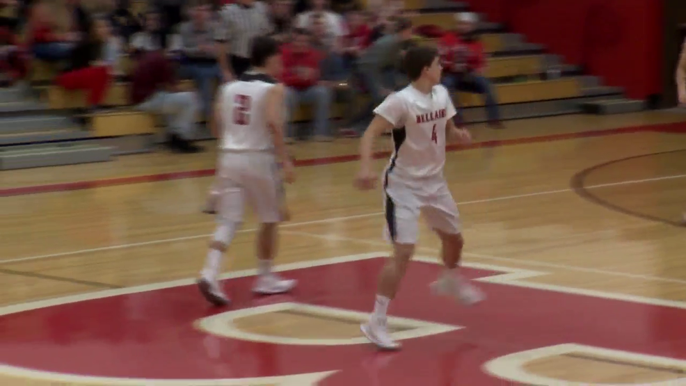 1.31.18 Video- Bellaire's Chase Yoho surpasses 2,000 point mark; Union Local wins 69-43