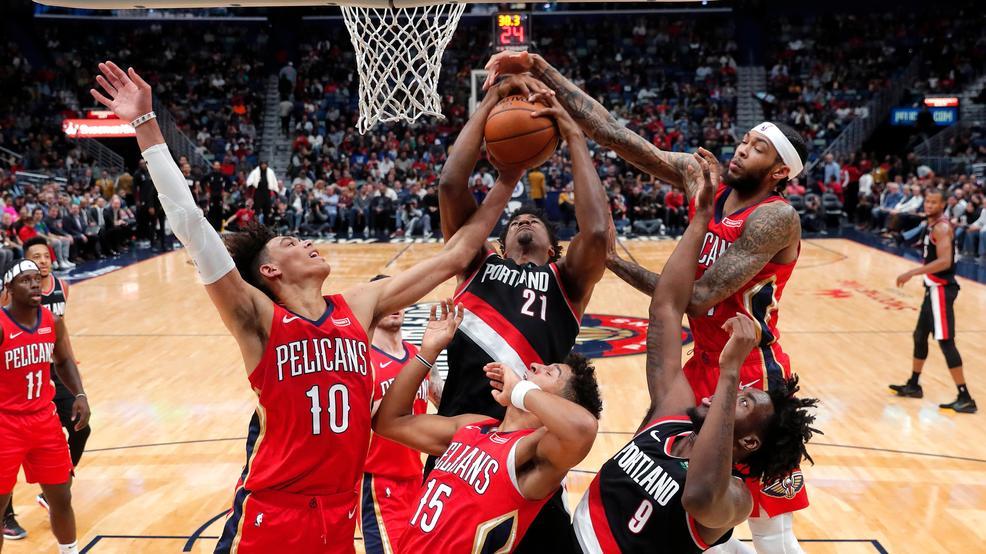 Pelicans spoil Anthony's debut, beat Blazers 115-104