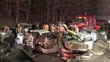 18 vehicles involved in Md. crash; multiple serious injuries reported