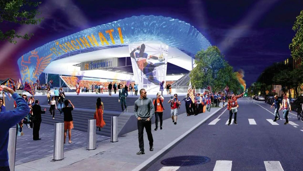 Hamilton County Commissioners approve money for a parking garage to support a new stadium{&amp;nbsp;} (FC Cincinnati){&amp;nbsp;}<p></p>