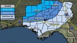 UPDATE: Snow likely in South Georgia Wednesday morning