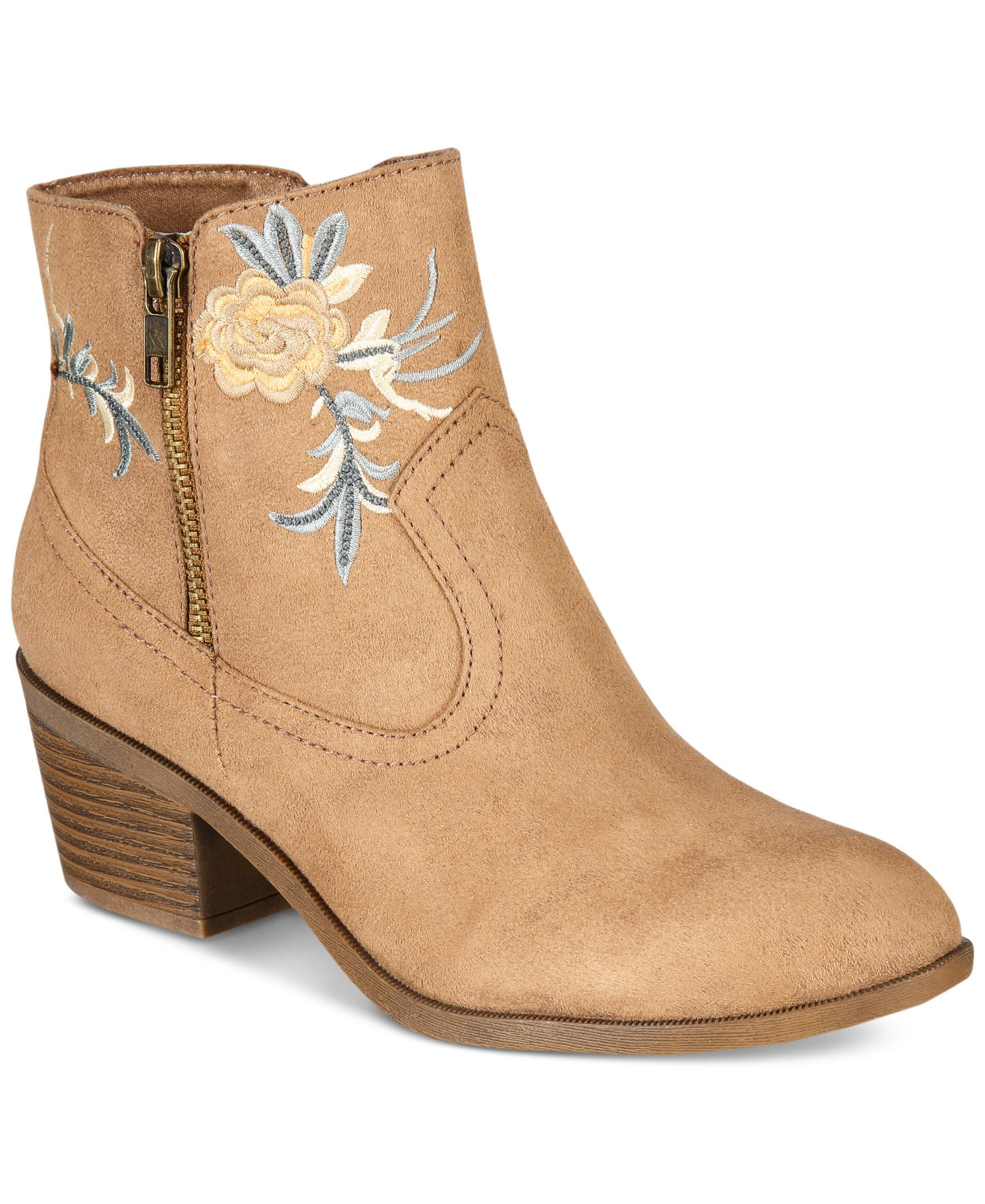 ZIGIny Loraina Booties from Macy's - on sale for $29.40, originally $49.00 // macys.com (Photo courtesy: Macy's)<p></p>