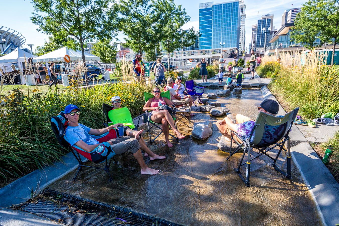 The Whispering Beard Folk Festival jammed for three days at Smale Park from Thursday, August 22 to Saturday, August 24. The festival was formerly held in Friendship, IN before coming to Cincinnati's riverfront this year. / Image: Catherine Viox // Published: 8.25.19