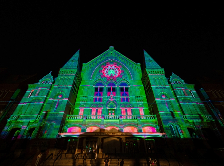 Lumenocity's Inception. August 4, 2013 / Image: Corey Stevens