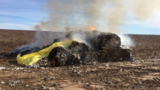 Dalhart fire crew fight Cotton Bale fire Thanksgiving afternoon