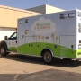Bronson Hospital unveils new pediatric ambulance