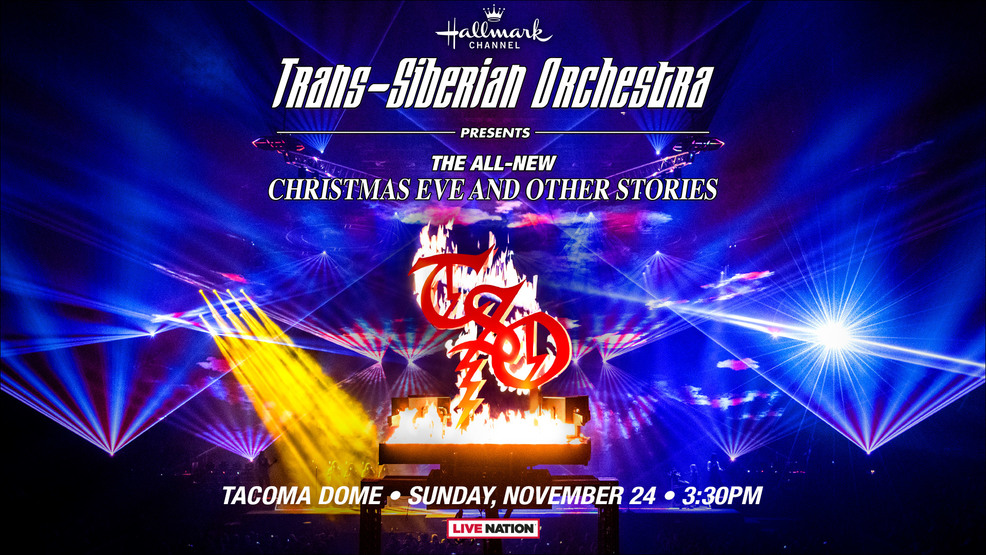 Just Announced: Trans-Siberian Orchestra returning to the Tacoma Dome on Nov. 24th!
