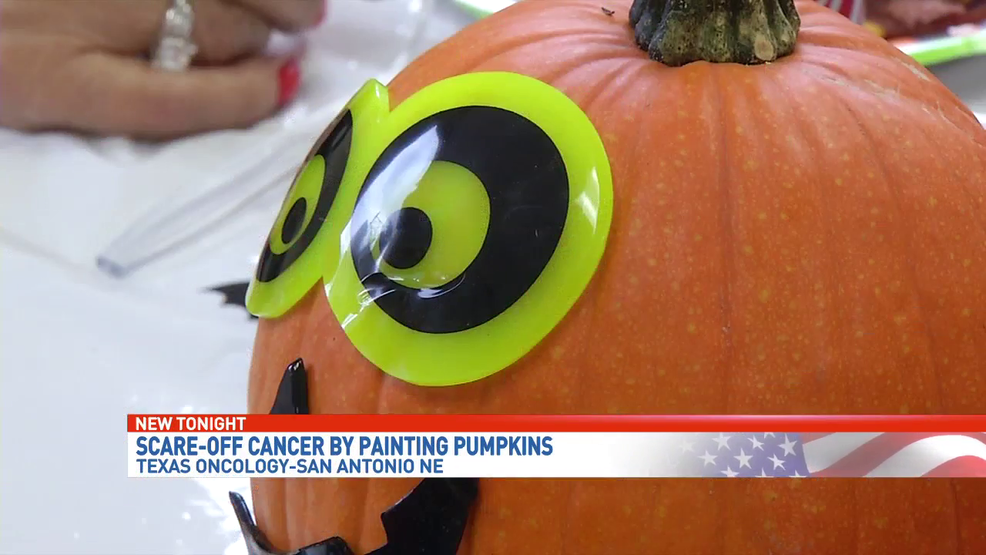 WATCH: Patients 'scare off cancer' with spooky decorations
