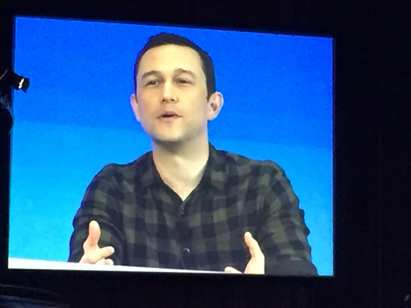 During a busy tech week in Las Vegas, AT&T held their Developer Summit at the Palms Casino Resort from Jan. 3-4, 2017, also featuring a presentation by guest speaker and actor Joseph Gordon-Levitt (Jami Seymore | KSNV)