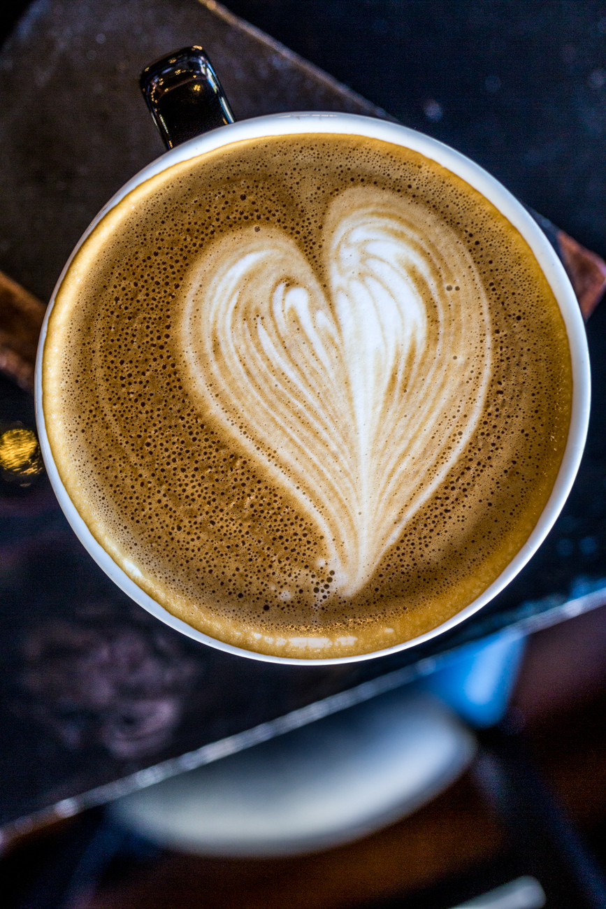 Vanilla latte / Image: Catherine Viox{ }// Published: 11.7.19