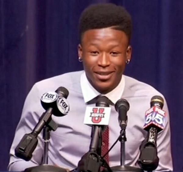 Four-star running back Alvin Kamara from Norcross, Ga. signed with the University of Alabama on National Signing Day Wednesday, February 6, 2013.
