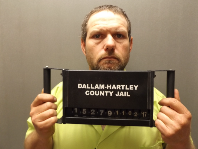 Kory Tidrow has been indicted by a grand jury for charges related to the murder of Joel Frazier. (Photo Courtesy: Dallam County Sheriff's Office)