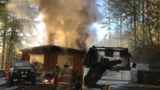 2 airlifted to hospital after motorhome fire in Key Peninsula area