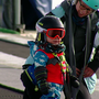 16-month-old snowboarder, Orion, is a sight to see