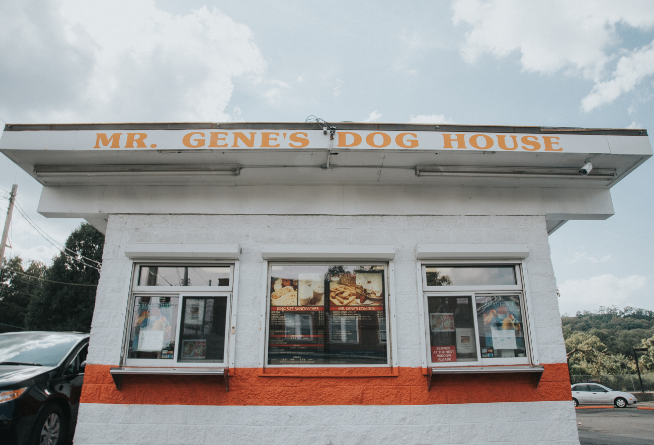 Mr. Gene's Dog House is a walk-up hot dog joint in South Cumminsville. It offers an array of hot dogs, as well as wings, onion rings, ice cream, and more. The restaurant (which is only open seasonally) closes on November 6. ADDRESS: 3703 Beekman Street (45223) / Image: Brianna Long // Published: 9.11.17