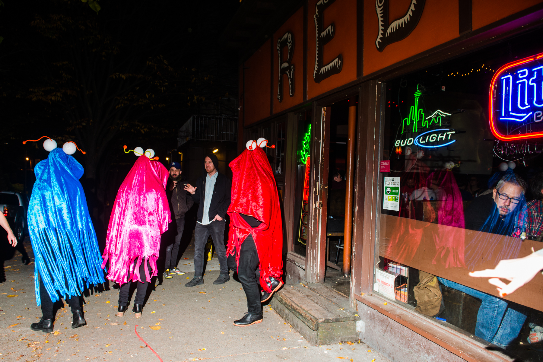 After a couple confusing false alarms, the Redwood finally closed its doors on the eve of Halloween. Shots were had, beers were poured, peanut shells were strewn and a spooky good time was had. After about 12 years together, we have to say we're at a bit of a loss. Thanks for the memories Redwood, you'll be missed! (Image: Chona Kasinger / Seattle Refined)