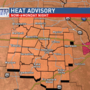 Dangerous heat continues, Heat Advisory extended through Father's Day Weekend