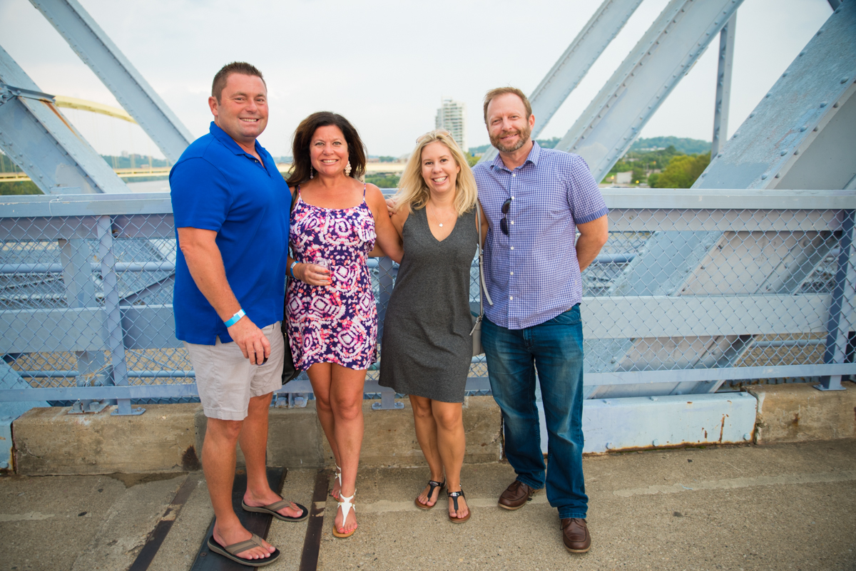 Chris & Amy Van Lieu with Jill Arlinghaus and Stephen Thomas{&nbsp;}/ Image: Sherry Lachelle Photography // Published: 8.26.18<p></p>