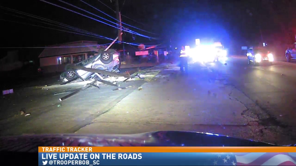 Crash on Dorchester Road knocks out power to thousands | WCIV