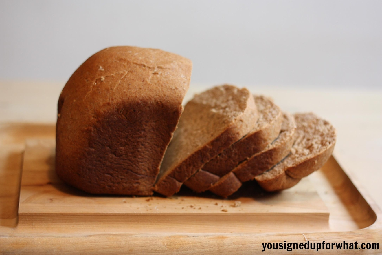 Cynthia's Cinnamon Wheat Bread (Photo: YouSignedUpForWhat.com)