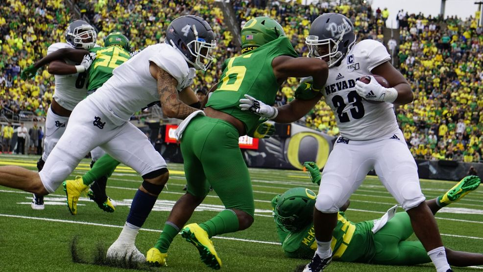 Wolf Pack All Access Nevada Falls To 16 Oregon At Autzen