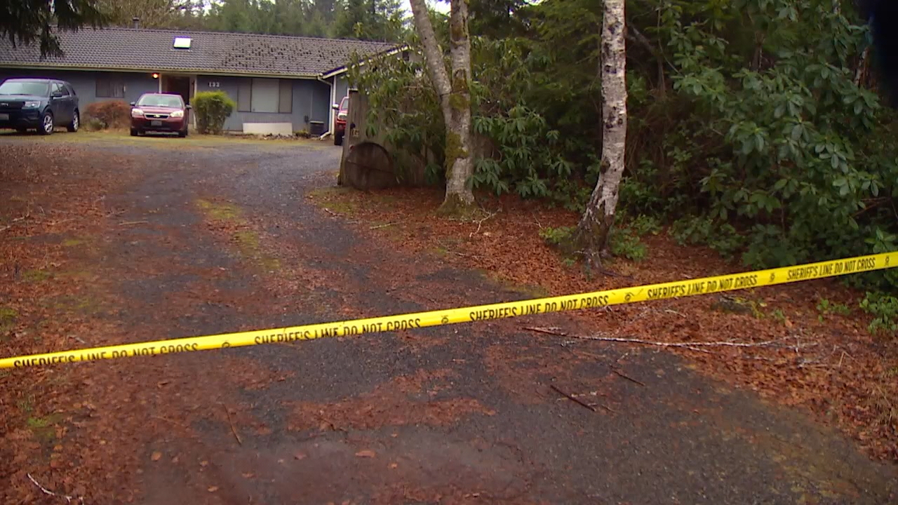 House where{ }Gerald Guile was attacked by a woman with a hatchet (KOMO Photo)