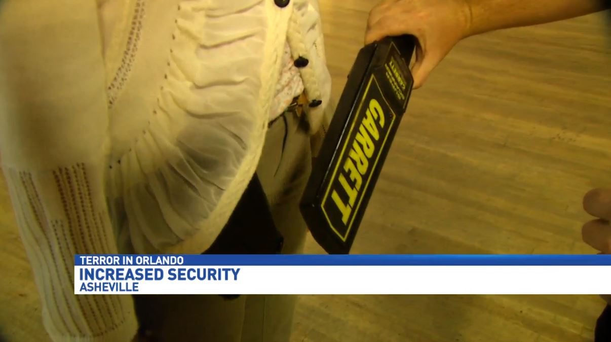 Asheville gay club will use metal detectors in light of Orlando massacre (Photo credit: WLOS)