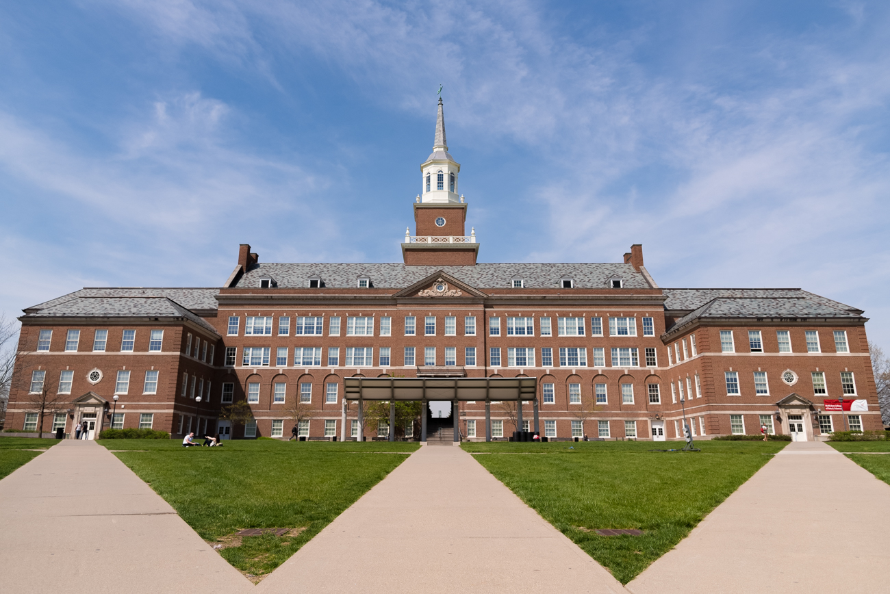 PICTURED: McMicken Hall / The University of Cincinnati, among one of the first municipal universities in the US, is Cincinnati's biggest and most well-known college. Situated at the top of the hill surrounded by Clifton, CUF, and Corryville, the school has some beautiful views. / Image: Phil Armstrong, Cincinnati Refined // Published: 4.19.17