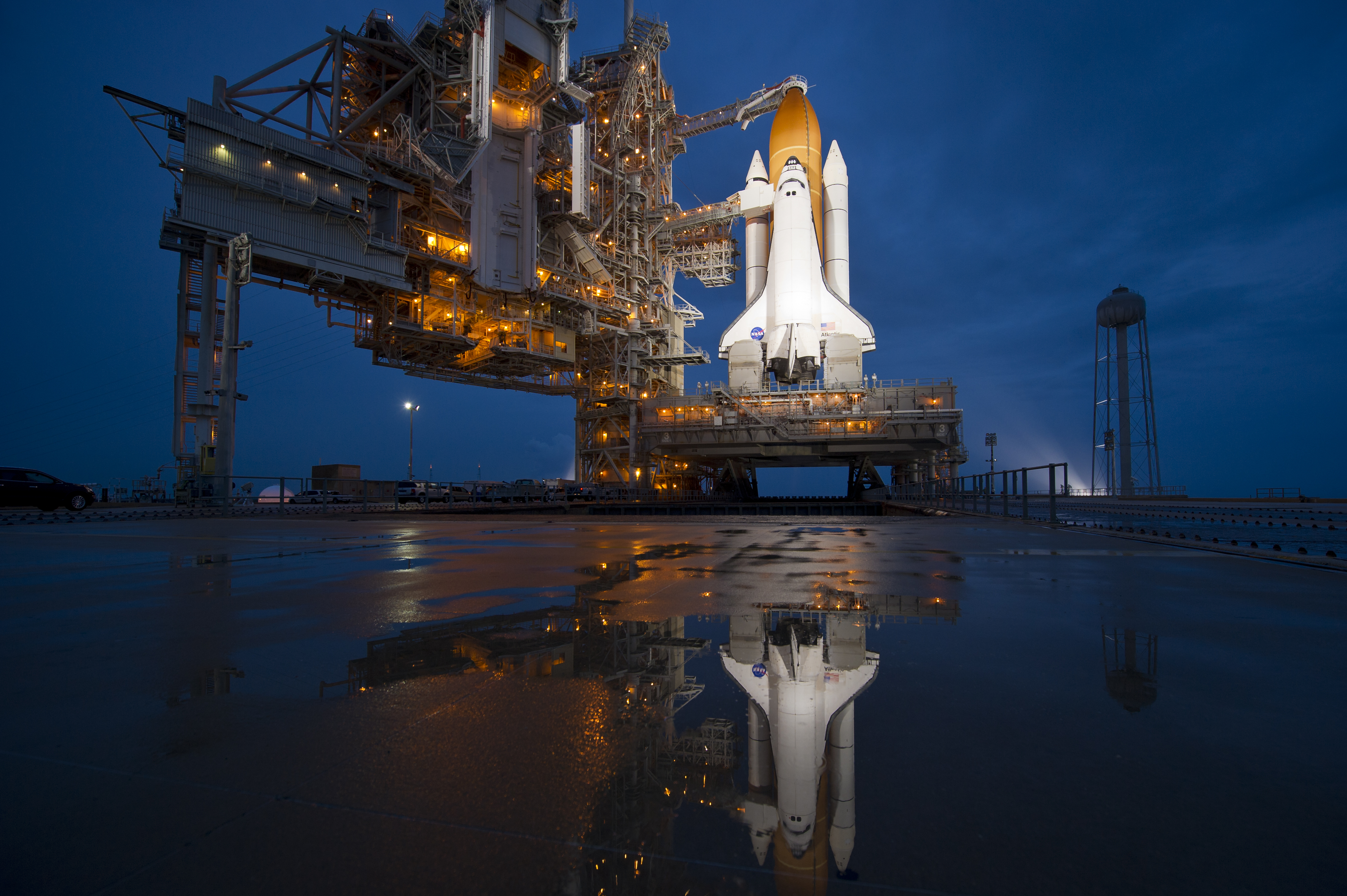 PICTURE SHOWS: The space shuttle Atlantis is seen shortly after the rotating service structure (RSS) was rolled back at launch pad 39a, Thursday, July 7, 2011 at the NASA Kennedy Space Center in Cape Canaveral, Fla.  Atlantis is set to liftoff Friday, July 8, on the final flight of the shuttle program, STS-135, a 12-day mission to the International Space Station.  ...   Prepare to have your mind blown - NASA has collected together a treasure trove of more than 140,000 images, videos and audio files.  The stunning collection consolidates imagery spread across more than 60 collections into one searchable location, called the NASA Image and Video Library website.  Cover Images have chosen a gallery of the most popular