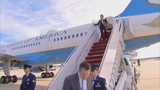 Smoke forces Melania Trump's plane back to Joint Base Andrews