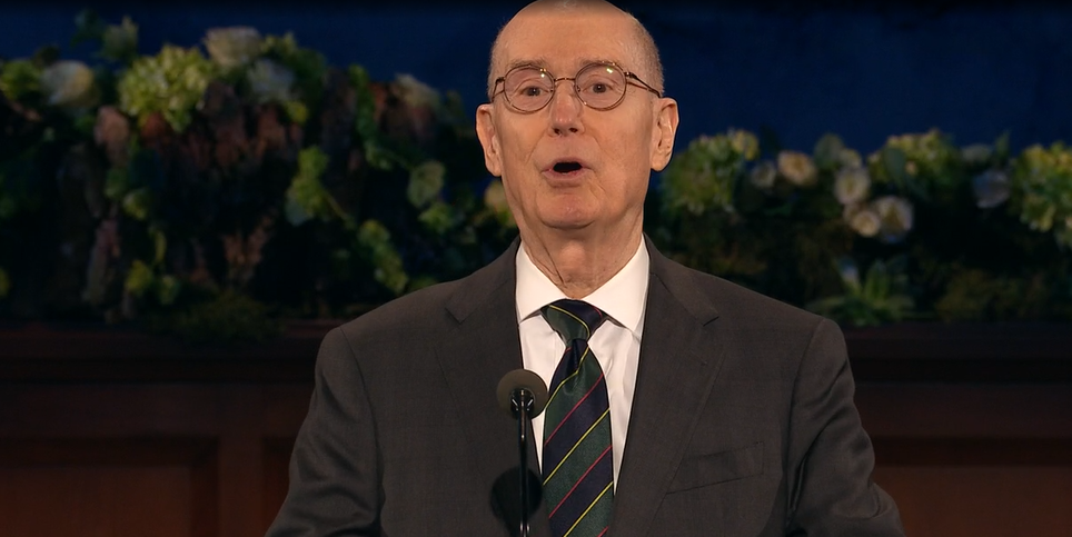 <p>President Henry B. Eyring, Second Counselor in the First Presidency (Photo: YouTube / screengrab)</p><p></p>