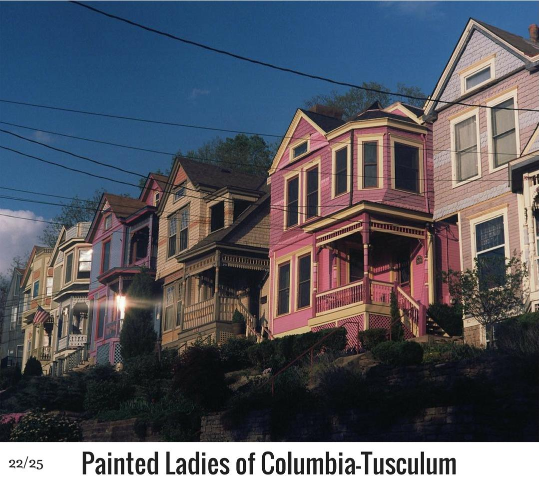 WHAT: Columbia-Tusculum's Victorian Painted Ladies / WHERE: Tusculum Avenue / Image: Corey Stevens / Published: 10.27.16