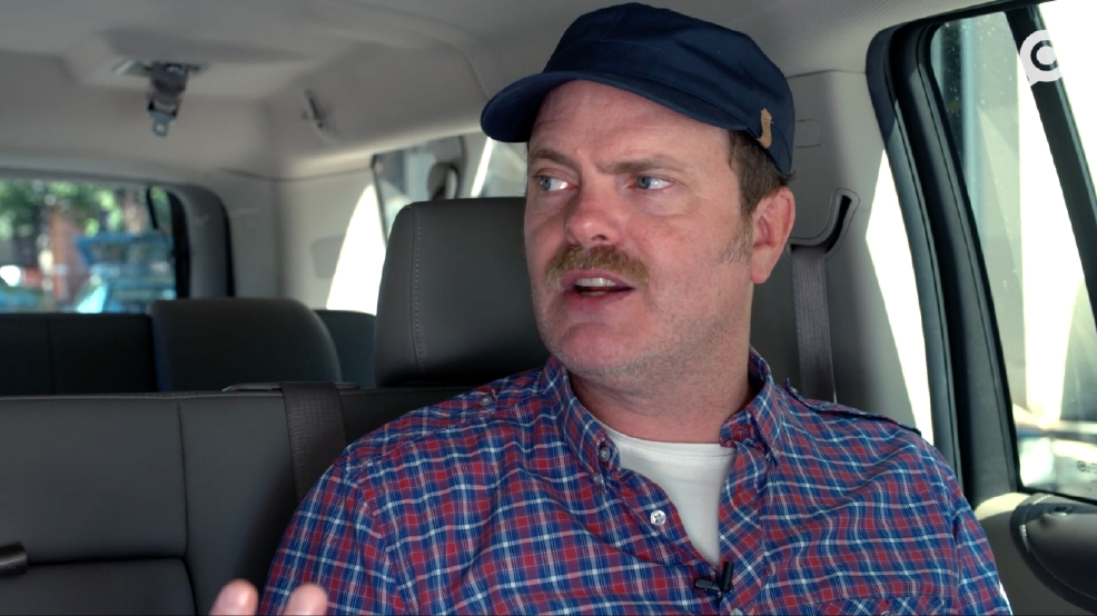 Rainn Wilson chatted with us about why he doesn't vote along party-lines