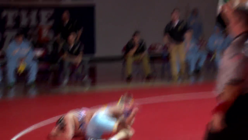 12.20.17 Highlights - Oak Glen vs Wheeling Park - high school wrestling