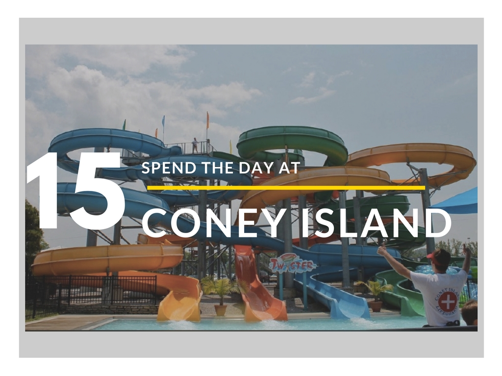 CINCY SUMMER BUCKET LIST ITEM #15: Spend a day at Coney Island / NOTE: The water park closes over Labor Day weekend, so your days are numbered until next summer // IMAGE: Rose Brewington