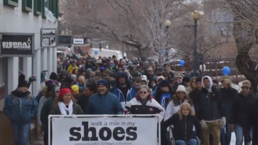 More than 600 people expect to 'Walk A Mile' for the needy
