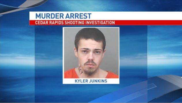 Kyler Junkins, charged with first-degree murder and first-degree burglary. (Linn County Jail)<p></p>