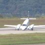 Small plane with mechanical issues makes emergency landing at Yeager